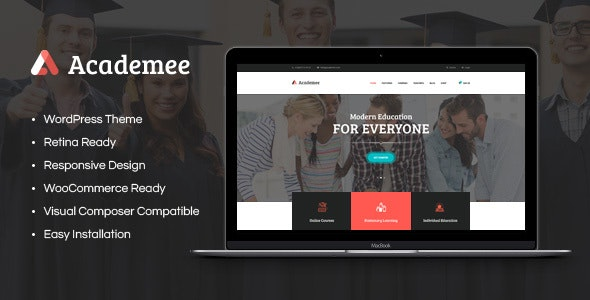 Academee | Education Center & Training Courses WordPress Theme - Education WordPress