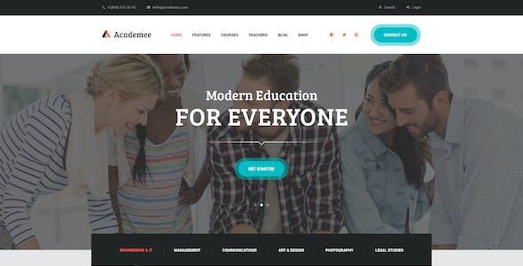 Academee | Education Center & Training Courses WordPress Theme