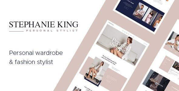 S.King   Personal Stylist and Fashion Blogger WordPress Theme