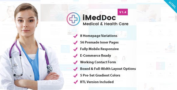 Dermatologist HTML Website Templates from ThemeForest