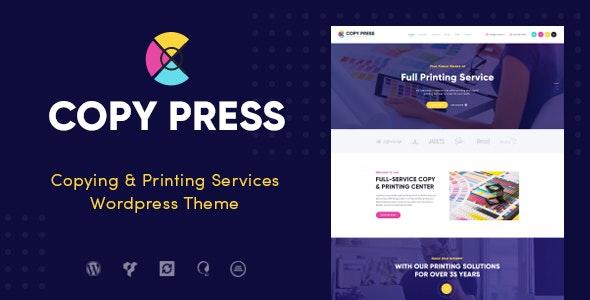CopyPress | Type Design & Printing Services WordPress Theme - Retail WordPress