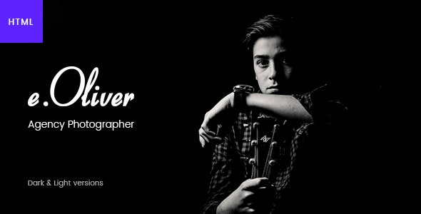 Oliver – Photography & Personal Blog HTML5 Template - Photography Creative
