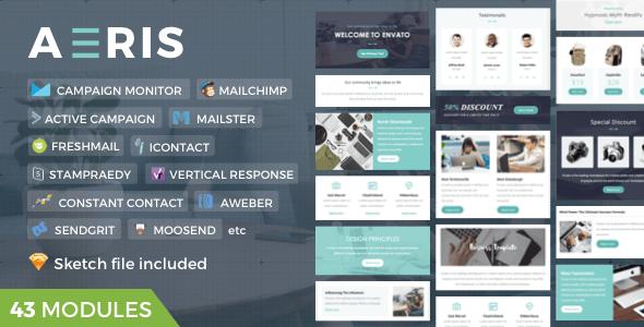 Aeris | Marketing Newsletter - Newsletters Email Templates