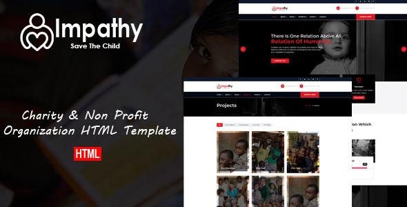 Impathy - Nonprofit, Donation, Charity HTML5 Template - Charity Nonprofit