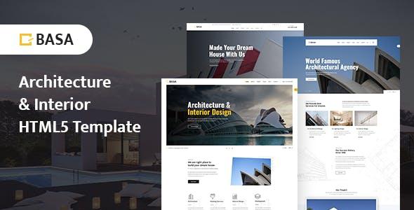 BASA - Architecture & Interior HTML5 Template