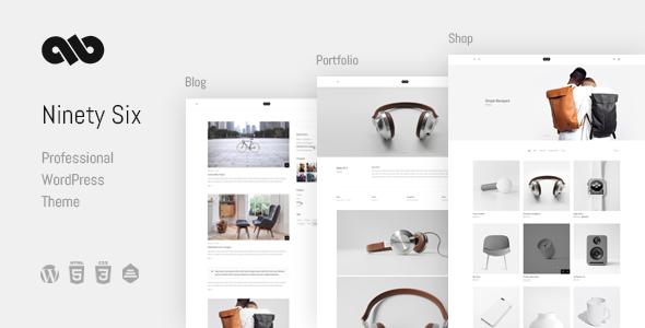 NinetySix - Clean, Creative, Professional Theme - Creative WordPress