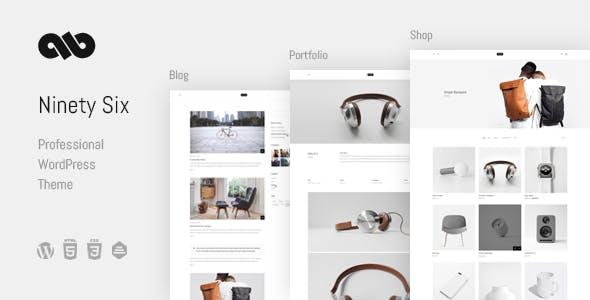 NinetySix - Clean, Creative, Professional Theme