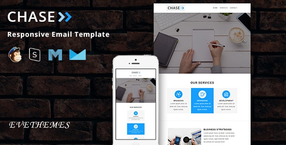Chase - Responsive Email Template - Newsletters Email Templates