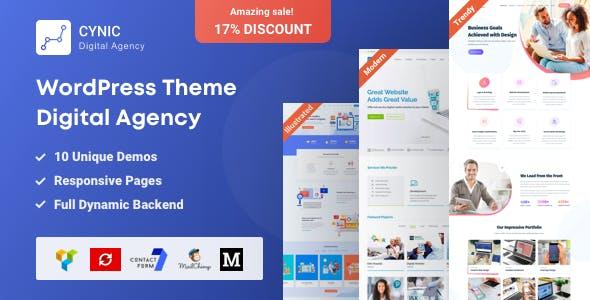 Digital Agency WordPress Theme - Cynic