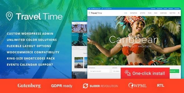 Travel Time - Tour and Hotel WordPress Theme - Travel Retail