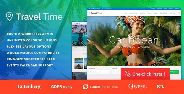 Travel Time - Tour and Hotel WordPress Theme