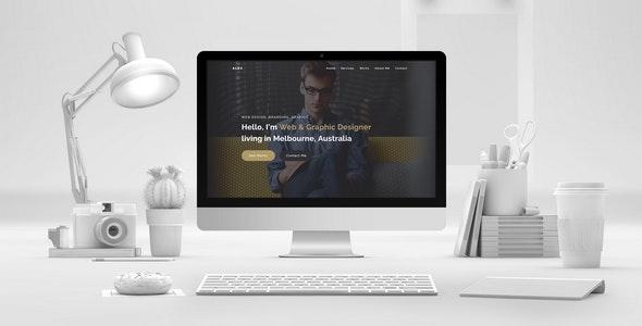 ALEX - Creative Portfolio Muse Template - Creative Muse Templates