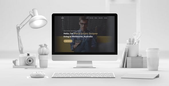 Download ALEX - Creative Portfolio Muse Template