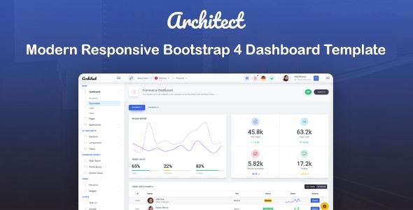 ArchitectUI - HTML Bootstrap 4 Admin UI Dashboard Template