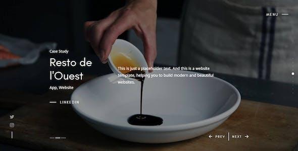 Agenci - Modern Creative Portfolio Website Template