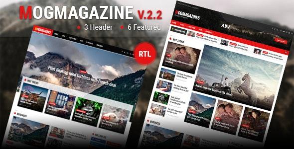 Mogtemplates - MogMagazine Template For Blogger V.2.2 - Blogger Blogging