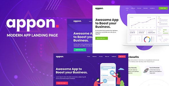 Appon – App & SaaS Software Theme