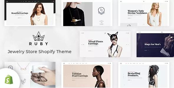 Ruby Jewelry Shopify Theme