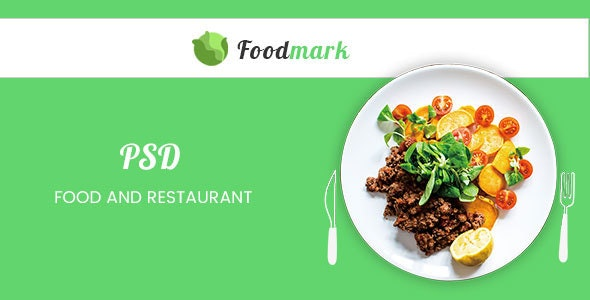 Foodmark – eCommerce PSD Template - Food Retail