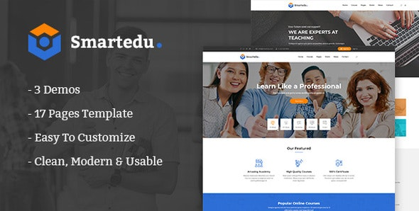 SmartEdu | Education & Courses HTML Template - Business Corporate