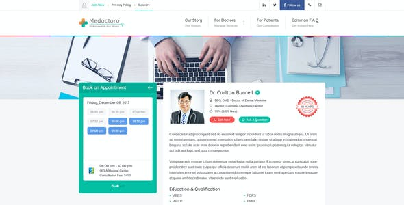 Medoctoro - Doctors Directory For Medical Profession
