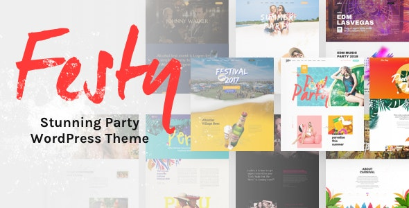 Festy Event WordPress Theme - Events Entertainment