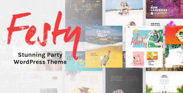 Festy Event WordPress Theme