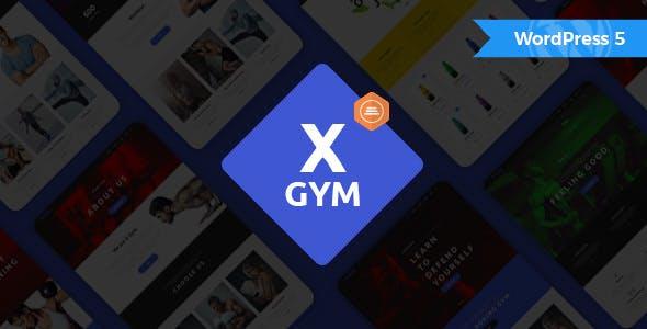 X-Gym - Fitness & Sports WordPress Theme