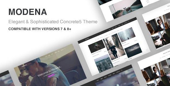 Modena Multi-purpose Concrete5 Theme