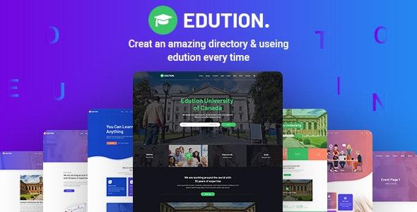 Edution -Education PSD Template - Business Corporate