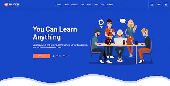 Edution -Education PSD Template
