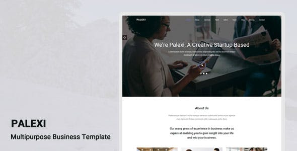 Palexi - One Page HTML5 Template