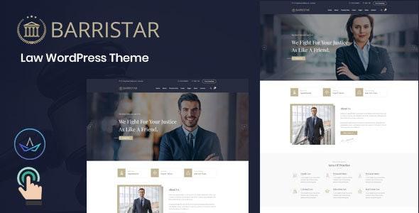 Barristar – Law WordPress Theme - Business Corporate
