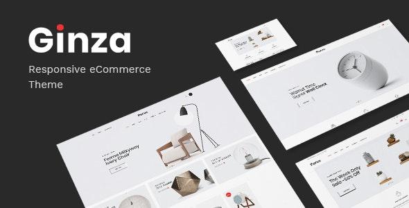 Ginza - Furniture Theme for WooCommerce WordPress - WooCommerce eCommerce