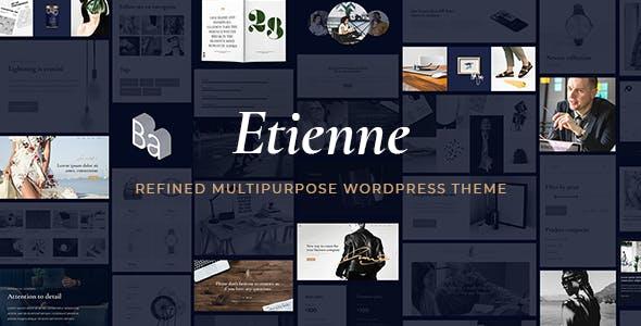 Etienne - Business WordPress Theme