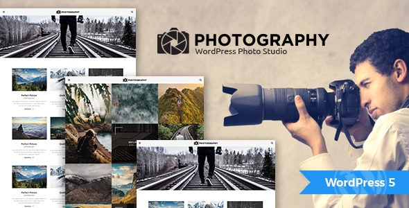 MT Photography - WordPress Theme - Photography Creative