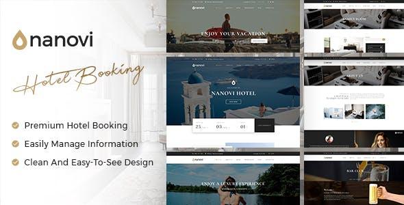 Nanovi - Resort and Hotel WordPress Theme