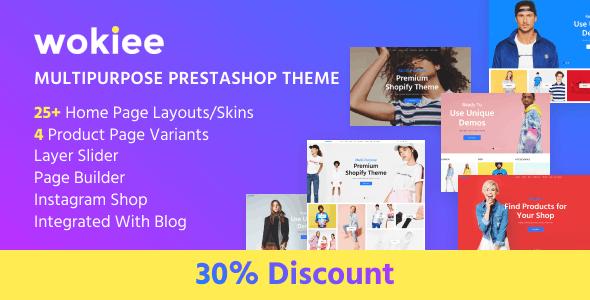 Wokiee - Multipurpose Prestashop Theme