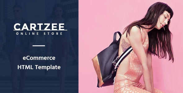 Cartzee - Multipurpose eCommerce Bootstrap Template - Fashion Retail