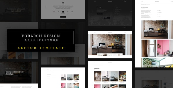 Forach - Architecture Sketch Template - Business Corporate