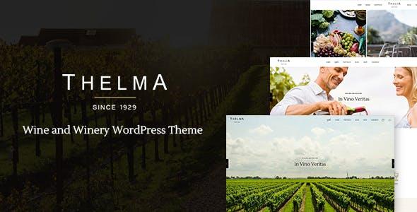 Thelma - Wine and Winery WordPress Theme