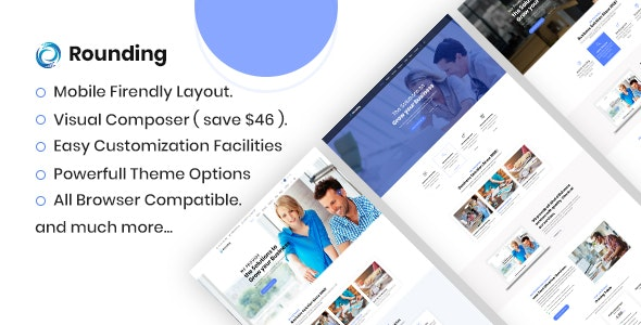 Rounding - Business WordPress Theme - Business Corporate