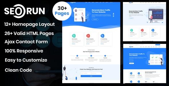 Seorun - SEO & Digital Marketing Agency Template - Marketing Corporate
