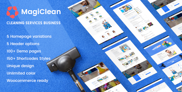 Cleaning Company   MagiClean - Business Corporate