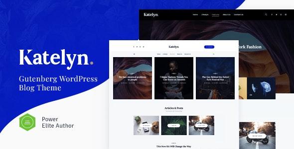 Katelyn | Creative Gutenberg Blog WordPress Theme - Personal Blog / Magazine