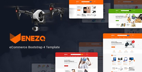 Venezo - Electronics Sports Shop HTML Template - Shopping Retail