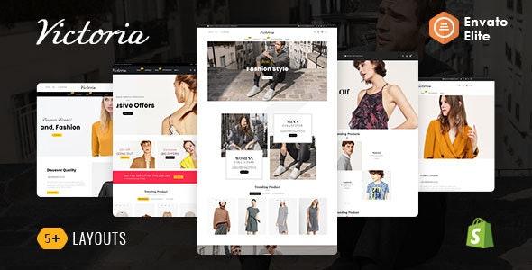 Victoria - Shopify Multi-Purpose Responsive Theme - Fashion Shopify