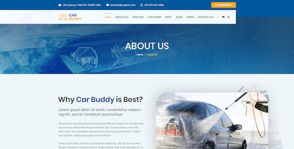 AutoBuddy - Car Wash & Detailing Center PSD Template