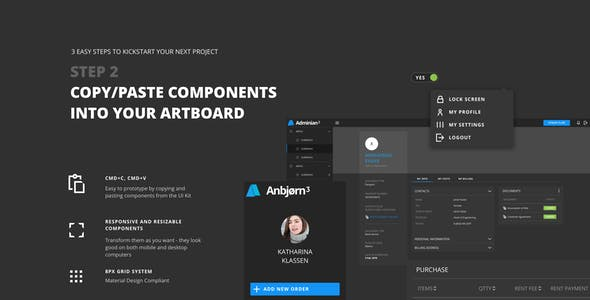 Anbjorn 3 | Design System Constructor for Web Applications