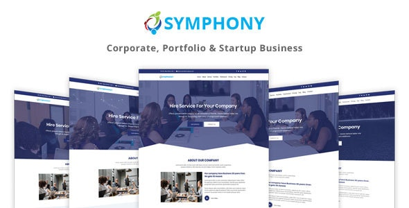 Symphony - One Page Parallax - Business Corporate